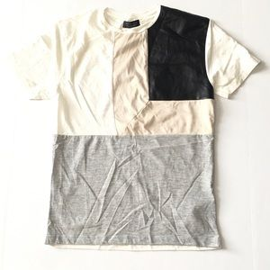ZARA MAN Colorblock Shirt Size Small